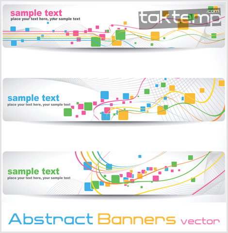 Abstract-Banners-vector