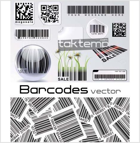 Barcodes-vector