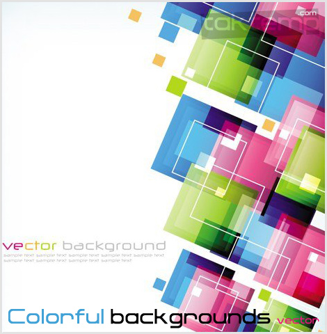 Colorful-backgrounds-vector