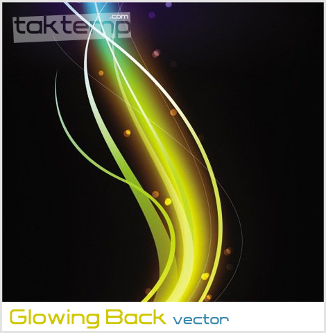 Glowing-Back-vector