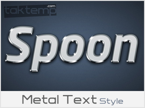 Metal-Text-Style