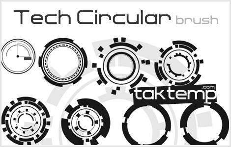 Tech-Circular-brush