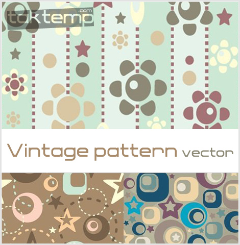 Vintage-pattern-vector