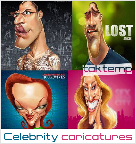 celebrity-caricatures