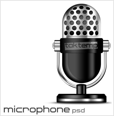 microphone-psd