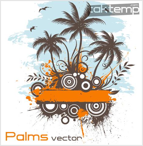 palms-vector