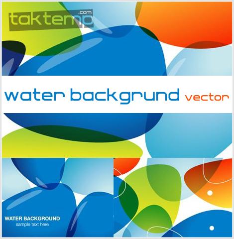 water-backgrund-vector